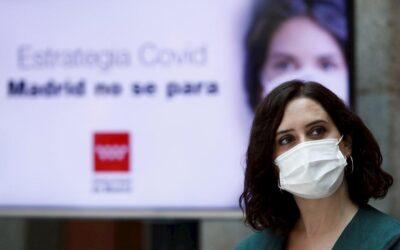 Medidas preventivas frente a la crisis sanitaria en Madrid